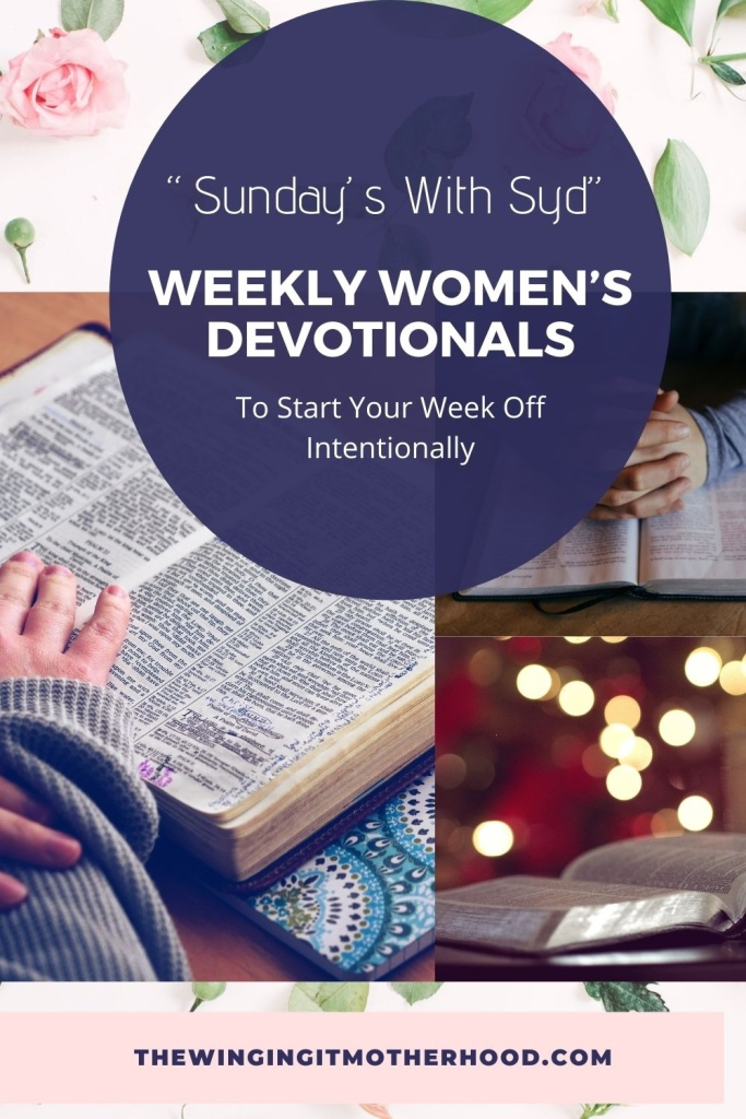 Devotions for women for encouragement and spiritual growth.